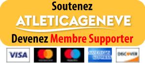 Devenez Membre Supporter d'ATLETICAGENEVE
